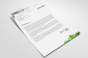 80 GSM Criss Cross Letterhead ( 210 x 280 mm Single Side) - Without Pad | Qty : 1000